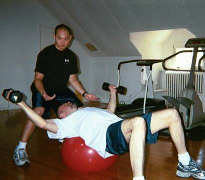 In Home Personal Training in Evanston, Chicago Suburb